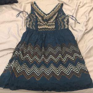 Anthropologie Beaded dress